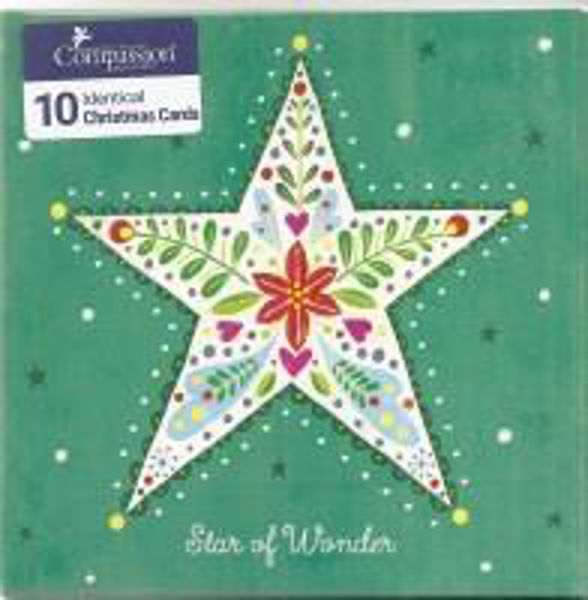 Picture of 2020 COMPASSION 10 CARDS/Star of wonders