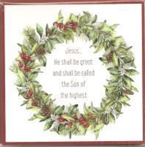 Picture of 2020 GM 10 CARDS christmas wreath