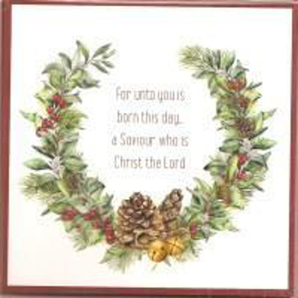 Picture of 2020 GM 10 CARDS Festive wreaths