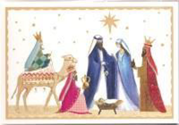 Picture of 2020 TEARFUND 10 CARDS simple nativity