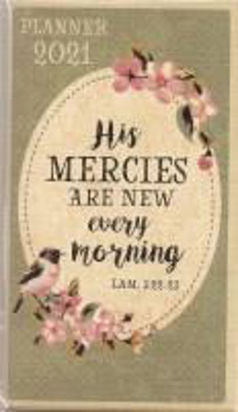 Picture of 2021 DAILY PLANNER His mercies