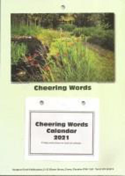 Picture of 2021 CHEERING WORDS BLOCK CALENDAR