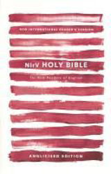 Picture of NIrV HOLY BIBLE Red paperback