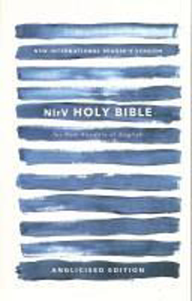 Picture of NIrV HOLY BIBLE Blue paperback