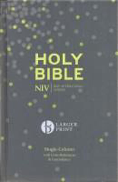 Picture of NIV 2011/LARGER PRINT COMPACT Hardback