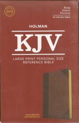 Picture of KJV LARGE PRINT Personal reference Brown