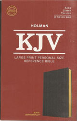 Picture of KJV LARGE PRINT Personal reference Black