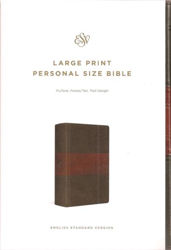 Picture of ESV LARGE PRINT Personal TruTone Forest