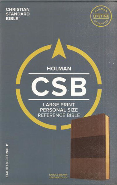 Picture of CSB LARGE PRINT Personal ref Saddle Brow